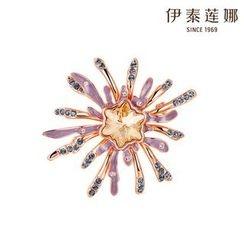 伊泰蓮娜 - 施華洛世奇元素水晶胸針