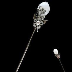 Paparazzi - Flower Hair Stick