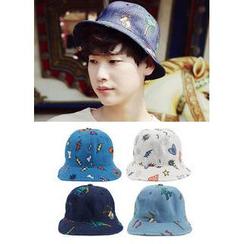 JOGUNSHOP - Patterned Cotton Hat