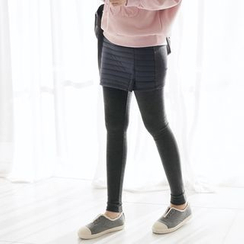 CLICK - Brushed-Fleece Leggings