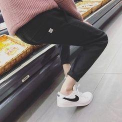 子俊 - 针织锥形裤
