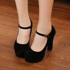 Mancienne - Mary-Jane Platform Pumps