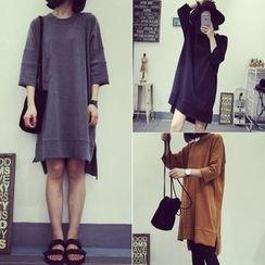 Cloud Nine - 3/4-Sleeve T-Shirt Dress