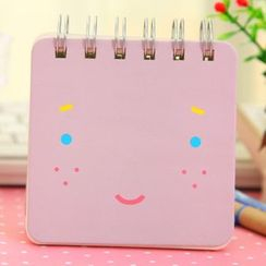 Desu - Face Print Pocket Notebook