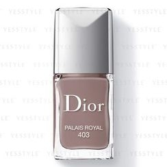 Christian Dior - Dior Vernis Couture Colour Gel Shine and Long Wear Nail Lacquer - # 403 Palais Royal