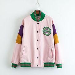 TOJI - Color-Block Jacket