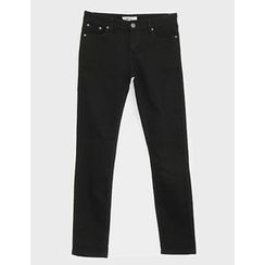 STYLEMAN - Flat-Front Straight-Cut Pants