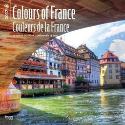 BABOSARANG - 2017 'COLORS OF FRANCE' Wall Calendar (L)