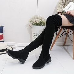 Zandy Shoes - Over-The-Knee Boots