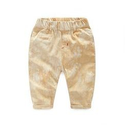 WellKids - Kids Washed Cropped Pants