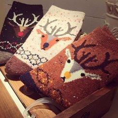 NANA Stockings - Deer Patterned Socks