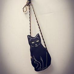 Youme - Chain Strap Cat Cross Body Bag