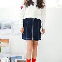 Maine - 牛仔布裙