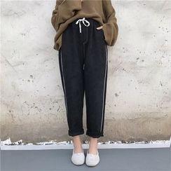 Octavia - 配色邊哈倫褲