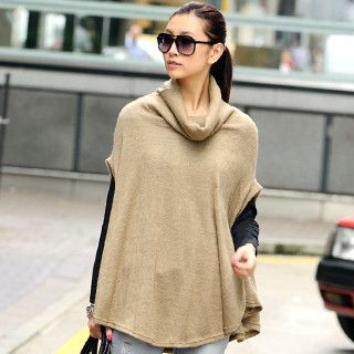 59 Seconds - Cowl-Neck Poncho