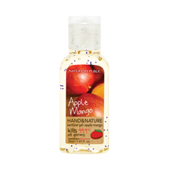 Nature Republic - Hand And Nature Sanitizer Gel (Ethanol) - Apple Mango 30ml