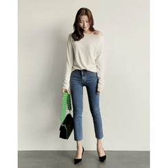 UPTOWNHOLIC - Cropped Skinny Jeans
