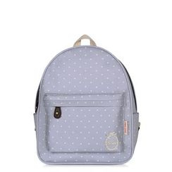 SUPER LOVER - Dotted Canvas Backpack