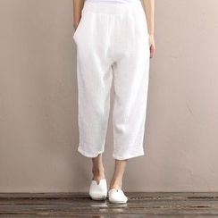 Calo Rosa - Wide Leg Cropped Pants