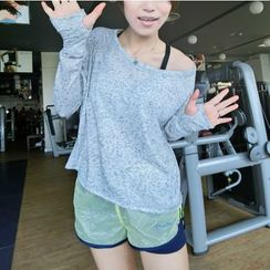 Morning Body - Long-Sleeve Quick Dry Top