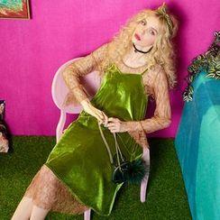 ELF SACK - Set: Lace Dress + Velvet Dress