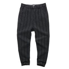 Mannmix - Pinstripe Knit Pants