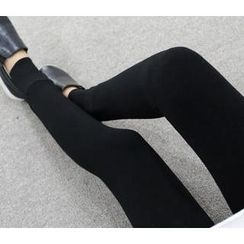 WHITE FOX - Brushed Fleece Leggings