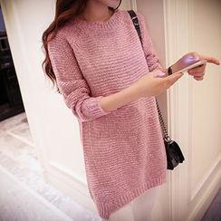 Cotton Candy - Round-Neck Sweater