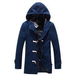 AOYAMA - Hooded Toggle Coat