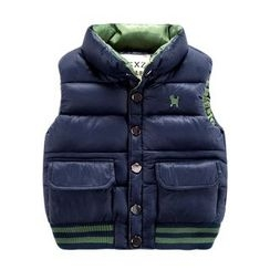 DEARIE - Kids Embroidered Padded Vest