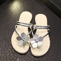 Weiya - Floral Flip-flops