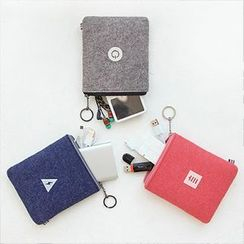 Full House - Felt Charger Pouch