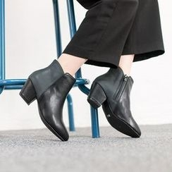 VIVIER - Two-Tone Ankle Boots
