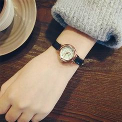 Honey Bee - Thin Strap Watch