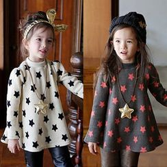 Seashells Kids - Kids Star Print Long Sleeve Tunic
