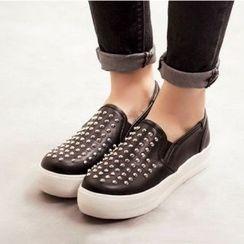 Mancienne - Studded Slip-Ons