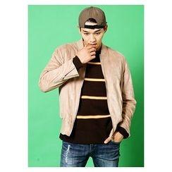 HOTBOOM - Plain Zip Jacket