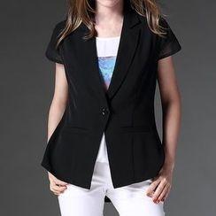 Mythmax - Short-Sleeve Blazer