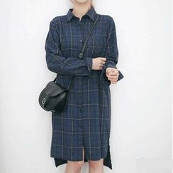 EFO - Plaid Shirtdress