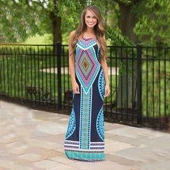 Hotprint - Patterned Maxi Dress