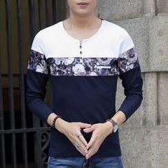 Fusuma - 長袖印花T恤
