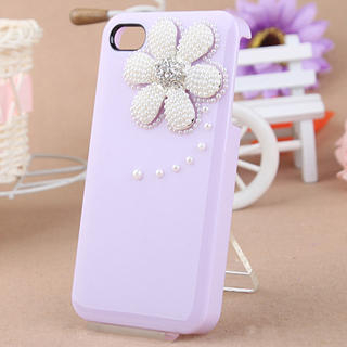 Fit-to-Kill - Pearl Daisy iPhone 4/4S Case