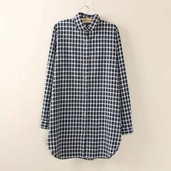 Tangi - Plaid Long Shirt