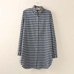 Tangi - 格纹长衬衫