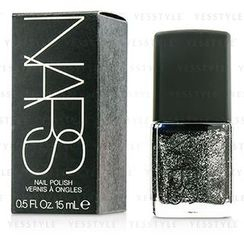 NARS - Nail Polish - #Night Breed (Black with silver glitter)