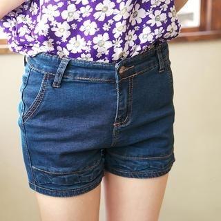 Tokyo Fashion - Washed Denim Shorts