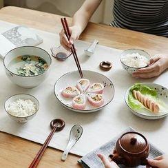Kawa Simaya - Floral Tableware Set