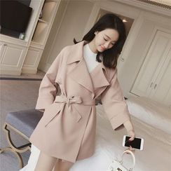 Diado - Double-Breasted Trench Coat
