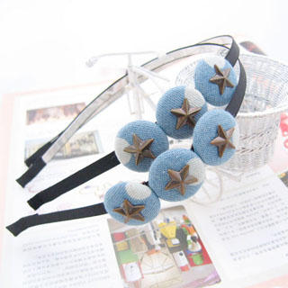 Fit-to-Kill - Stars Hair Band - Light  Blue (1 piece )