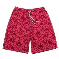 Mermaid's Tale - Printed Beach Shorts